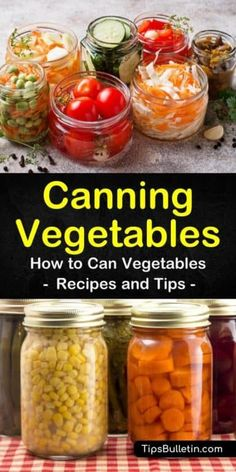 Learn about canning vegetables, which ones are the best to can and how to can vegetables. Find out which canned veggies are best for beginners to try. Try a delicious recipe for pasta fagioli soup using canned vegetables. Canning Vegetables, Frozen Vegetables, Veggies, Home Canning Recipes, Canning Tips, Pasta Fagioli Recipe, Fagioli Soup, Canned Vegetable Recipes, Canned Foods