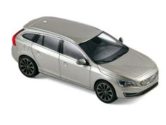 Norev Volvo Diecast Model Car 870015 This Volvo Diecast Model Car is Seashell Grey and has working wheels and also comes in a display case. It is made by Norev and is scale (approx. Volvo Models, Volvo V60, Diecast Model Cars, Display Case, Scale Models, Hot Wheels, Sea Shells, Corgi, Grey