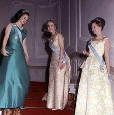 Queen Margrethe Ii, Brocade Dresses, Danish Royal Family, Danish Royals, Marie, Formal Dresses, Banquet, Thailand, Castle