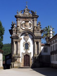 Chapel at Mateus Palace, Vila Real, Portugal, 18th C, Nicolau Nasoni