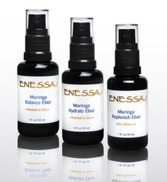 elixirs ~ i use moringa oil under my eyes in the morning and at night! light reflecting, skin renewal