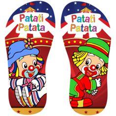 Estampa para chinelo Patati Patatá 000898