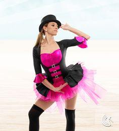 Curtain Call Costumes® - Life Is A Circus- If Cat in the Hat had been a girl for my piece