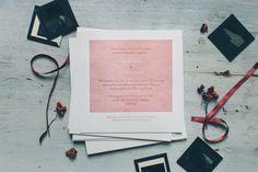 letterpress wedding invitation by www.blattundherz.com - photo: www.somethingblue.at