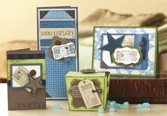 November 2011 Stamp of the Month - Cherish the Day - $17.95.    ** I still have some of this stamp set if you missed out.  **