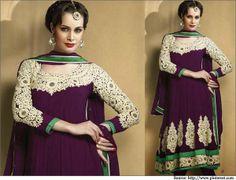 Top 10 Designer Salwar Kameez With Unique Neck Designs & Patterns