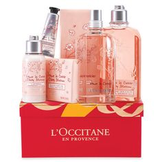 L'Occitane's Sweet Cherry Blossom Gift Set by TownShopCo on Etsy
