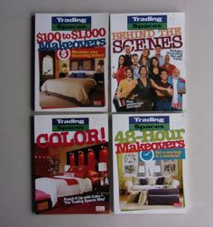 Trading Spaces Book Lot TLC Remodel Redecorate Decorating Makeover Tips Techniques