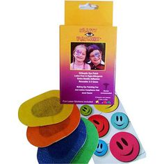 Krafty Eye Patches, multicolor, 20ct
