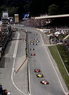 1983 Types Of Races, Belgian Grand Prix, Speed Racer, Triumph, F1 Racing, Great Pictures, Belgium, Race Cars, Around The Worlds