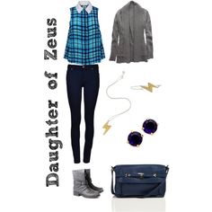 """""""Daughter of Zeus: Cabin 1"""" by xylophobian on Polyvore"""