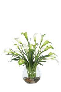 Calla Silk Flower Arrangement