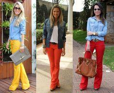 Tatiana, um simples vaso: Versátil, moderna, coringa: Camisa Jeans