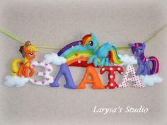 Larysa's Studio: ♥♥♥ именная гирлянда Злата