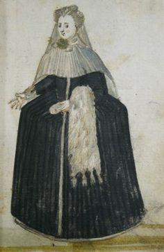 The Muff in Sixteenth Century Dress