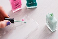 DIY These 6 Phone Cases in Under 10 Minutes via Brit + Co