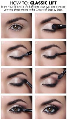 #eyemakeup How To Give a Classic Lift To Your Eyes