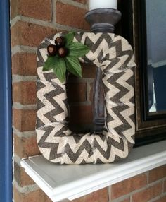 "9x12 Ohio State Block ""O"", Buckeyes, Home Decor, Chevron Burlap by TheCraftyChicShoppe on Etsy https://www.etsy.com/listing/183267815/9x12-ohio-state-block-o-buckeyes-home"