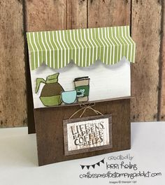 July Tutorial Bundle Blog Hop – Coffee Cafe :: Confessions of a Stamping Addict