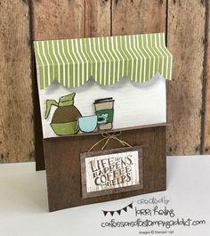 July Tutorial Bundle Blog Hop – Coffee Cafe