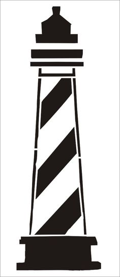 Stencils- Lighthouse - 10x3.2 Beach Signs DIY