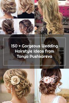150 + Gorgeous Wedding Hairstyle Ideas from Tonya Pushkareva Wedding Hair Side, Hairstyle Ideas, Wedding Hairstyles, Hair Styles, Hair Plait Styles, Hair Makeup, Wedding Hair, Hairdos, Wedding Hair Down