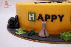 Breaking bad cake ideas, Heisenberg Breaking Bad Cake, meth candy, Breaking bad cake.