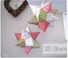 My May Sunshine: 3D Origami Stars
