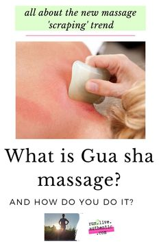Gua sha is an ancient Chinese massage method that promises to relieve pain and inflammation. So how do you do it and is it safe? How to choose Gua sha tools and easy to learn techniques. Gua Sha Massage, Self Massage, Face Massage, Massage Tools, Massage Therapy, Sore Body, Lymph Fluid, Referred Pain, Gua Sha Tools