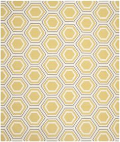 Safavieh DHU202A Dhurrie Collection Handmade Wool Area Rug, 8-Feet by 10-Feet, Ivory and Yellow Safavieh http://www.amazon.com/dp/B00CM7OO10/ref=cm_sw_r_pi_dp_U-gQtb1BNMZNJFFS