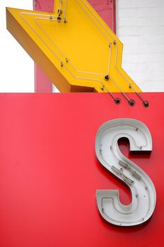 S is for Signage