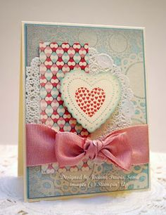 Hearts a Flutter bundle, More Amore paper, all Stampin' Up
