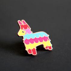Enamel Piñata Pin $12