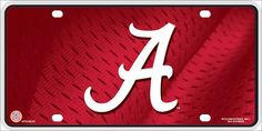 Alabama Deluxe Novelty Metal License Plate