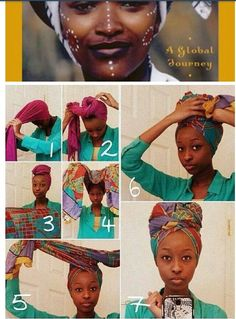 Head wrap how to