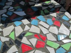 How to Make Ceramic Tile Table Top Designs