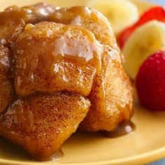 Enjoy monkey bread in a cute, individual serving. Big flavor in a small size!