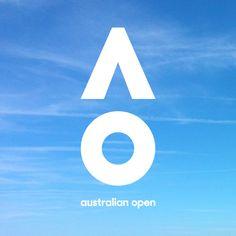 Brand New: New Logo and Identity for Australian Open by Landor Australia
