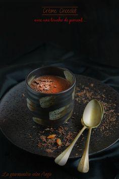 recette chocolat - crème végétale chocolat piment