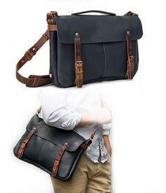 494a97e7b9 Le produit du jour est un très beau sac à bandoulière en cuir pour homme.