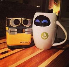 His and her Mugs<3