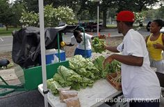 """The Produce Ped'lers sell fresh produce from rickshaws in underprivileged """"food deserts"""" in Goldsboro, trying to help folks there eat more healthy foods."""
