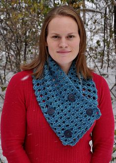 Ravelry: Structured Cowl crochet pattern by Theresa Grant