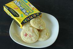 Mike and Ike Lemonade Candy Cookies