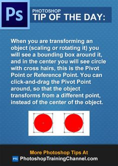 When you are transforming an object (scaling or rotating it) you will see a bounding box around it, and in the center you will see circle with cross hairs, this is the Pivot Point or Reference Point. You can click-and-drag the Pivot Point around, so that the object transforms from a different point, instead of the center of the object.