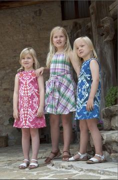 Princess Alexia, Princess Amalia and Princess Ariane of the Netherlands