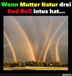 If Mother Nature has three Red Bull in it .