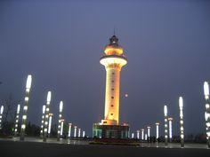 Rizhao lighthouse [c. 2000 - Rizhao, Shandong, China]