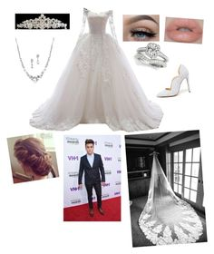 """Wedding with Grayson"" by mikeycliffordskitten ❤ liked on Polyvore featuring Liliana and Dolan"