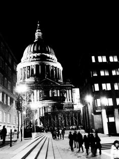 St Paul's at Night